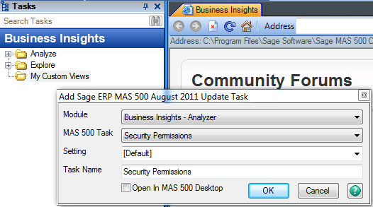 create a sage 500 erp formerly mas 500 user permissions view rh rklesolutions com Sage 100 Sage 500 ERP 2015